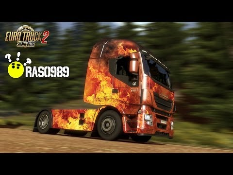 Euro Truck Simulator 2 - Force of Nature Paint Jobs Pack (Blazing Fire)