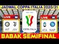 Jadwal Coppa Italia Babak Semifinal | Inter vs Juventus | Coppa Italy 2021 Semifinals | Live Tvri