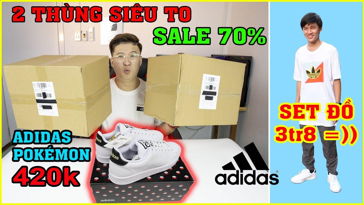 Khui 2 thùng Giày ADIDAS Siêu To, Siêu Rẻ trên LAZADA. Chọn nhầm Size và cái kết. | MUA HÀNG ONLINE