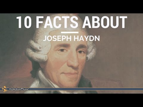 Haydn  10 facts about Joseph Haydn  Classical Music History