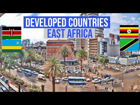 The Most Developed Countries in East Africa in 2020
