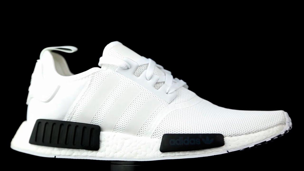 Adidas Originals NMD R1 blanco. - YouTube 6b4f5aceaa17
