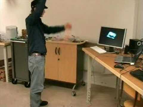 gametrak - motion tracking