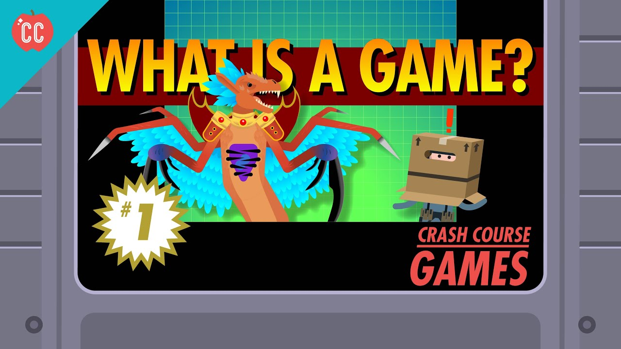 What is a Game Crash Course Games 1  YouTube