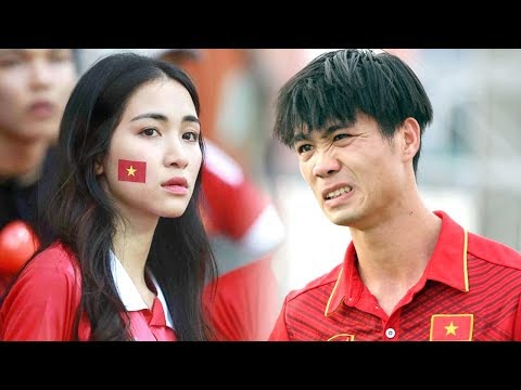 Công Phượng phản ứng bất ngờ khi Hòa Minzy xuất hiện trên sân tập - TIN TỨC 24H TV