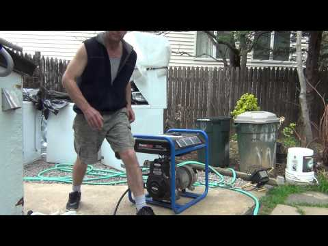 How to run generator on natural gas without carburetor and conversion kit.