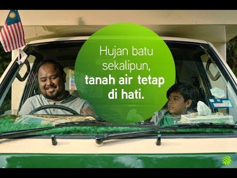 Sebuah iklan Merdeka 2017 dari Maxis 4G
