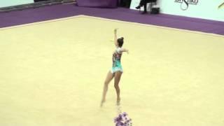 Аверина Арина, булавы. Гран-При 2016. Художественная гимнастика