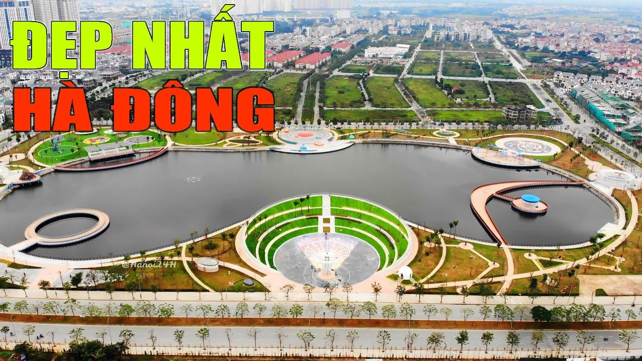 Công viên đẹp nhất Hà Đông, điểm du xuân mới cho người Hà Nội