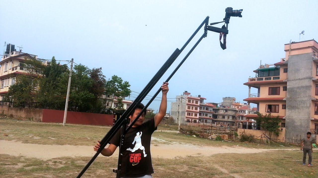 How to build a dslr crane jib diy dslr camera crane jib for Make a crane