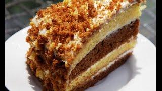Простой торт со сметаной