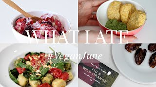 What I Ate #VeganJune 1 (Vegan/Plant-based) | JessBeautician