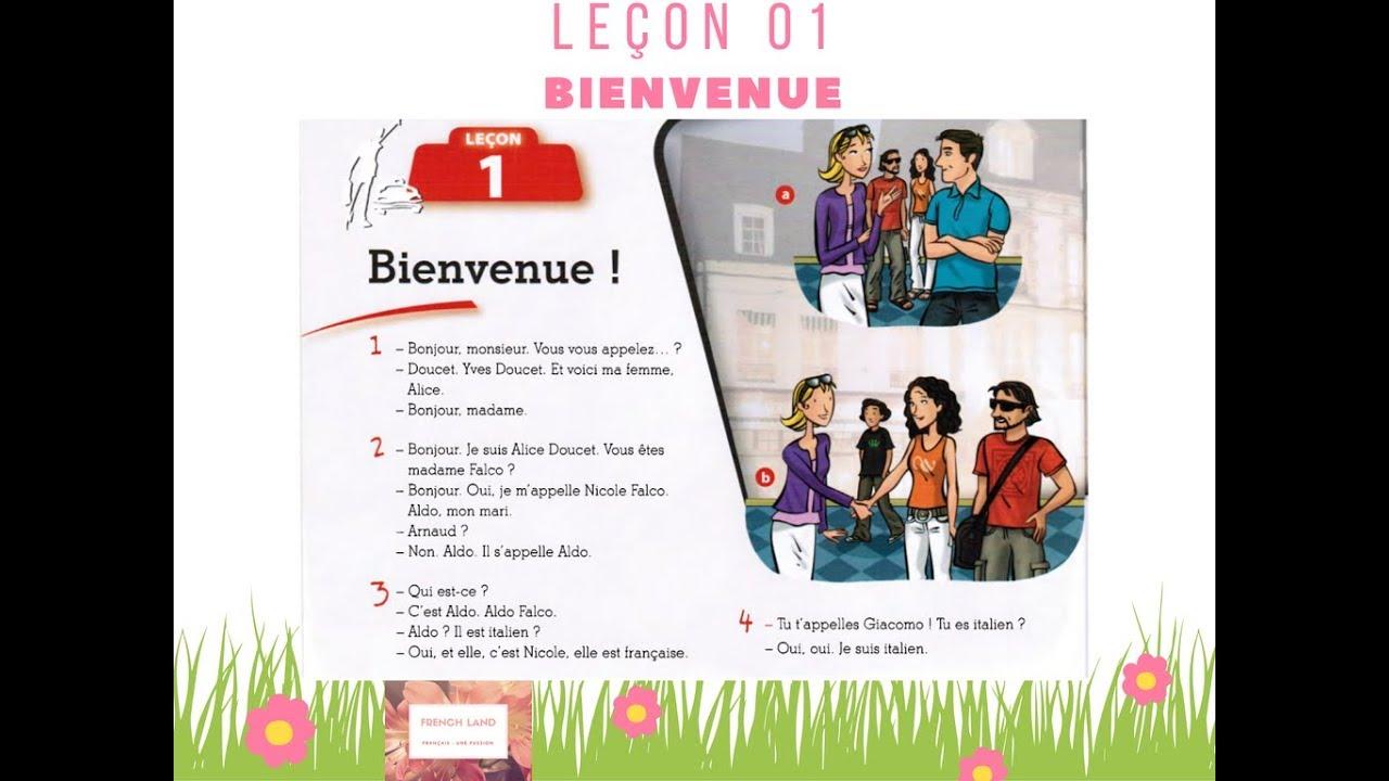 [TỰ HỌC TIẾNG PHÁP] Le Nouveau Taxi 1 - Leçon 1: Bienvenue