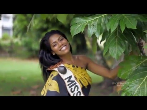Miss Pacific Islands Pageant - Miss Fiji intro video