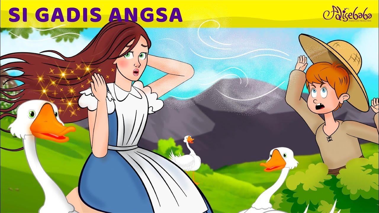 Si Gadis Angsa   Kartun Anak Anak   Bahasa Indonesia Cerita Anak