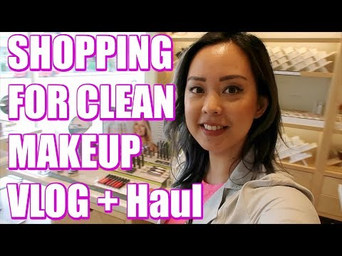 SHOPPING FOR CLEAN MAKEUP VLOG + HAUL | MORE SEREIN