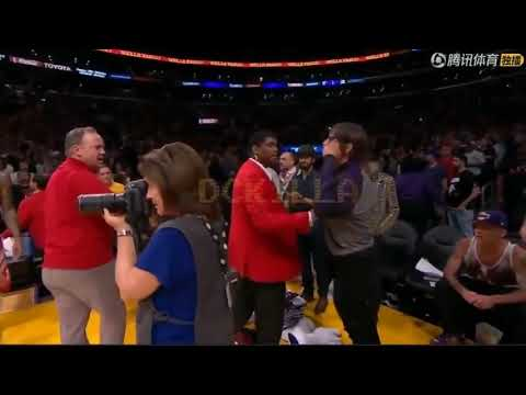 Johnny Maze - Anthony Kiedis ejected from Lakers game???