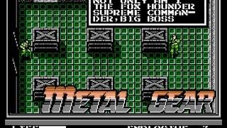 METAL GEAR - (NES/Famicom) Final Boss + Ending