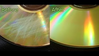 HOW TO GET SCRATCHES OFF ANY DISC!! 100% GUARANTEED!!