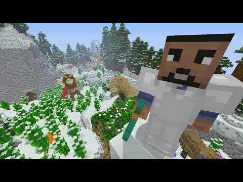 Minecraft Xbox - Chronicles of Narnia - Hunger Games