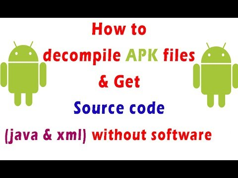 How To View Source Code Of An APK File Of Android Apps [Decompile APK]