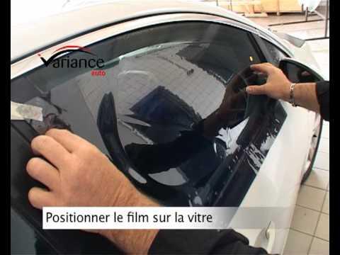 comment poser des films teintes thermoformes variance auto sur mon vehicule