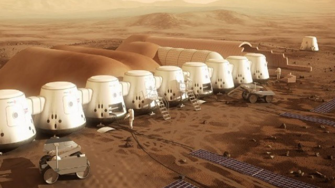 Help Colonize Mars! A One Way Trip Leaves In 2024 On A ...