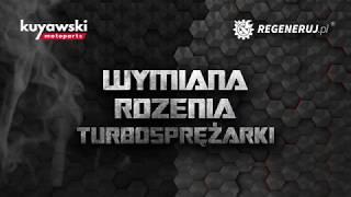 Wymiana rdzenia turbosprężarki. Wymiana korasa C.H.R.A. Regeneruj.pl Kuyawski.pl