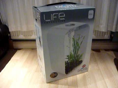 BiOrb P60 Unboxing - All In One Fish Tank Kit