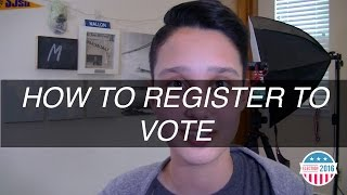 HOW TO REGISTER TO VOTE (full process) | #Election2016