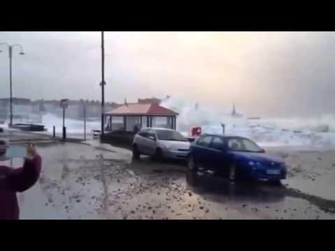UK Storms Floods Dawlish +more Feb 2014 UK Storms