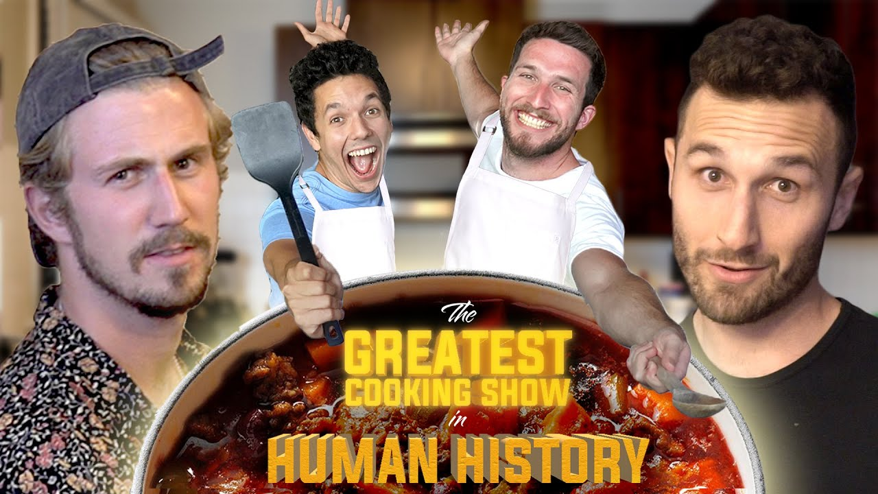 THE GREATEST COOKING SHOW IN HUMAN HISTORY Ft. Yes Theory - Sweet Potato Chili