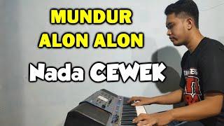 Download lagu Mundur Alon Alon Karaoke Koplo Nada Cewek
