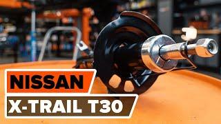 Kā nomainīt priekšas amortizatori NISSAN X-TRAIL T 30 PAMĀCĪBA | AUTODOC