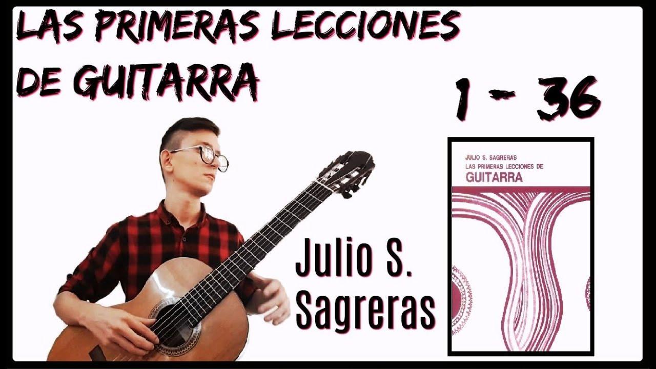 mis primeras lecciones de guitarra julio sagreras
