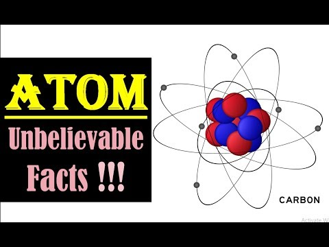Facts About Atoms- Fun Facts About Atoms- Structure, Size, Mass, Charge Of An Atom