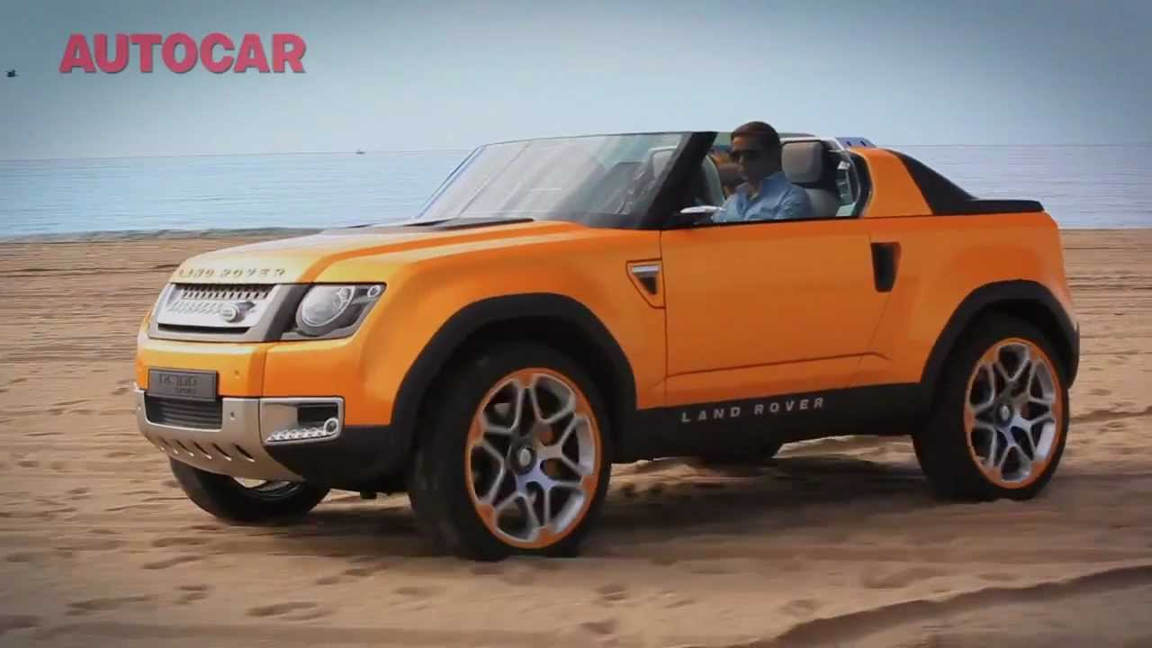 Range Rover Discovery Sport >> Land Rover Defender DC100 Sport tested - YouTube