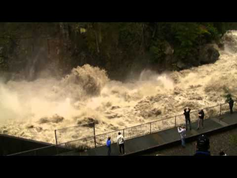 Flooding on the Stillaquamish River at Granite Falls Washington- 12-12-2010 -1