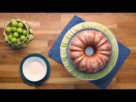 Key Lime Rum Cake • Tasty