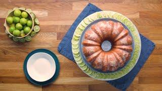 Key Lime Rum Cake •Tasty