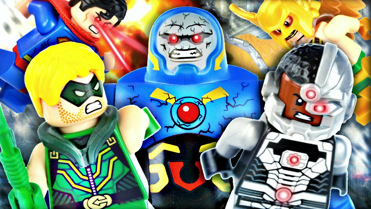 """LEGO DC Super Heroes : 76028 """"Darkseid Invasion"""" - Review ..."""