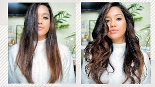 2 hairstyles using the Dyson Airwrap ✨