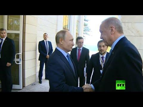 بوتين يلتقي أردوغان  في سوتشي  - نشر قبل 2 ساعة