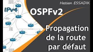 La propagation de la route par défaut avec OSPF | Darija
