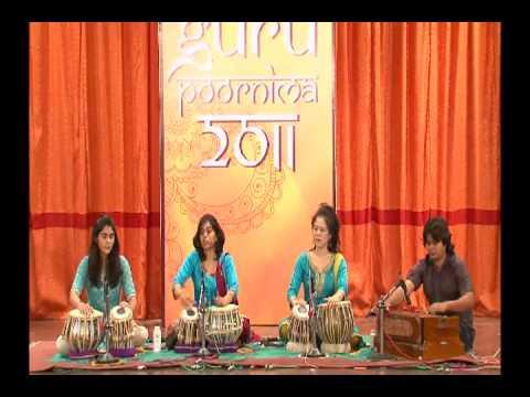 Taalika - Part 2 Relas / Chakradaar - Female Tabla Ensemble by Pandit Divyang Vakil