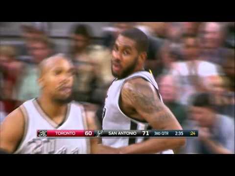 Toronto Raptors vs San Antonio Spurs   April 2, 2016   NBA 2015-16 Season