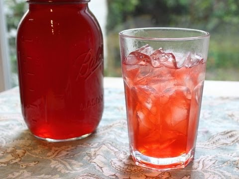 Strawberry Syrup - How to Make Fresh Strawberry Syrup and Strawberry Soda