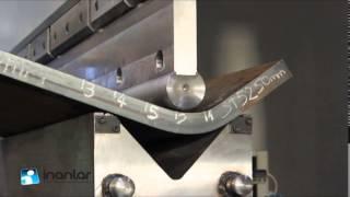 Гибка листа толщиной 50мм  Пресс с ЧПУ: усилие 1250 тонн, длина 4100 мм(, 2015-09-07T07:49:55.000Z)