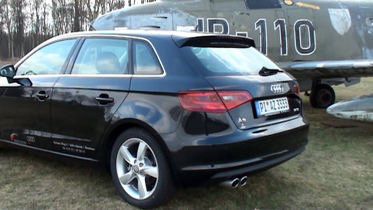 soundcheck audi a3 sportback 1 4 tfsi 2013 enginereport. Black Bedroom Furniture Sets. Home Design Ideas
