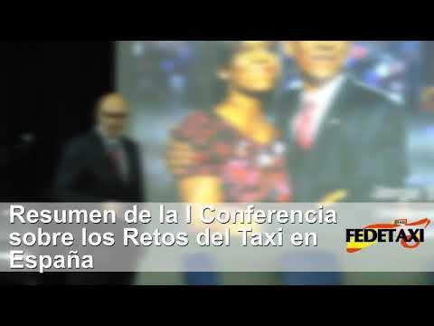 Conferencia Los Retos del taxi. Ponencia Jorge Santiago Barnes